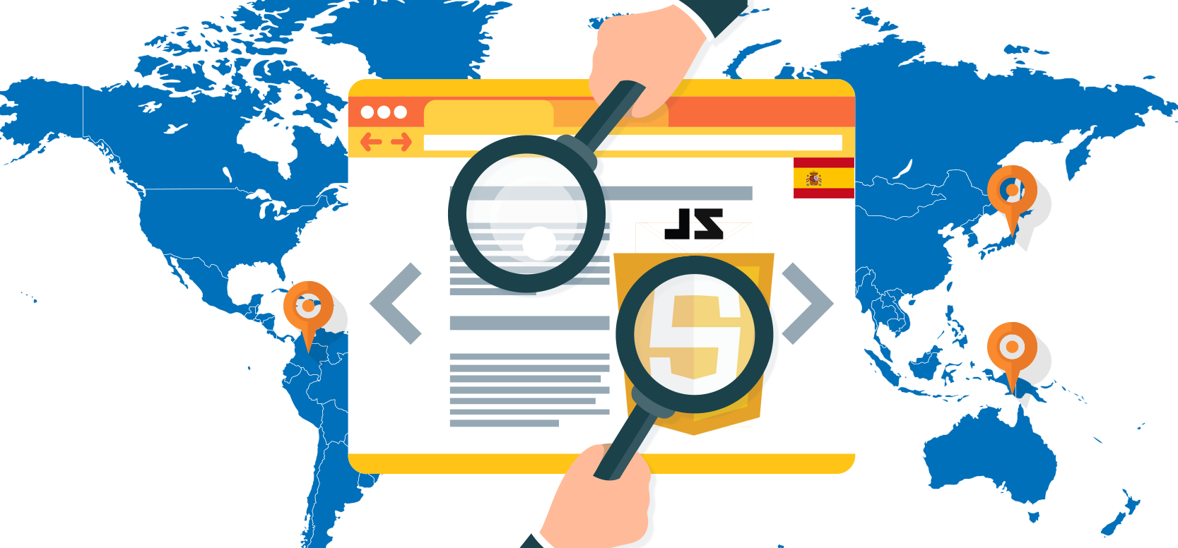 Javascript Translation SEO test English